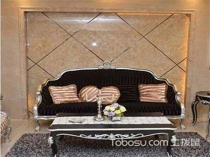 欧式瓷砖背景墙效果图,给你不一样的奢华高贵之感