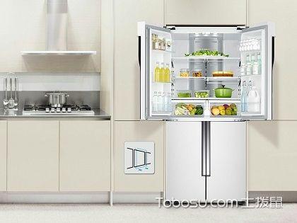 冰箱摆放效果图,充分利用空间最合理布局!