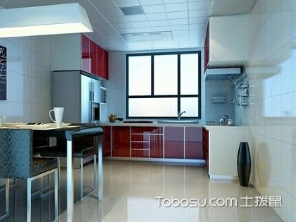 开放式和半开放式厨房,依照居室大小不同来设计!