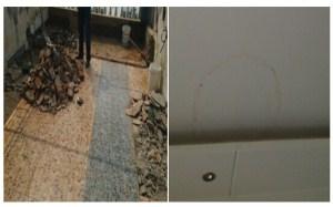 【露台漏水】露台漏水原因,露台漏水应使用何种防水材料,,怎么办,露台漏水图片