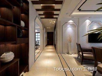 中式过道吊顶设计,带你感悟不一样的中式风情