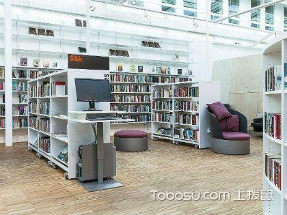 图书馆书架材质有哪些?木质书架使用较多
