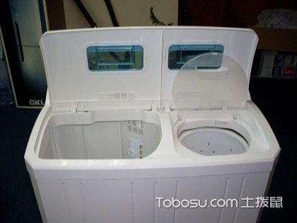双桶洗衣机如何清洗?看完你就知道有多简单了