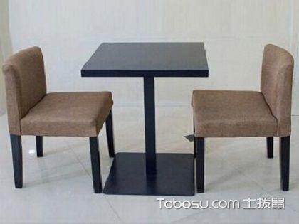 快餐桌椅尺寸大全,因款式和实际需求而不同!