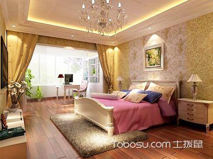 歐式田園風格臥室效果圖,享受輕奢與浪漫的生活!