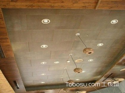 水泥板的吊顶施工方法,4步轻松搞定