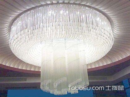 水晶吊灯尺寸多大才合适,看看客厅吊灯怎么选