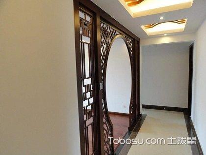 客厅过道吊顶,一进门就可以欣赏到的美景!