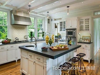 欧式田园风格厨房装修效果图,你的厨房要换了吗?