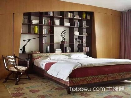 床头书架尺寸标准大公开,轻松打造卧室型书房