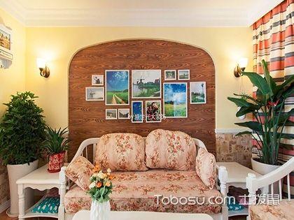 歐式田園風格設計圖,92平米兩居室裝修