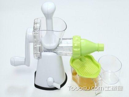手动榨汁机使用方法介绍,这几步你一定要知道