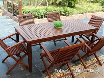 戶外桌椅什么材質好,這兩種常見的家具材料值得一用
