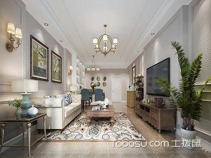 170平四居室装修设计图,感受简约美式的浪漫与温情!