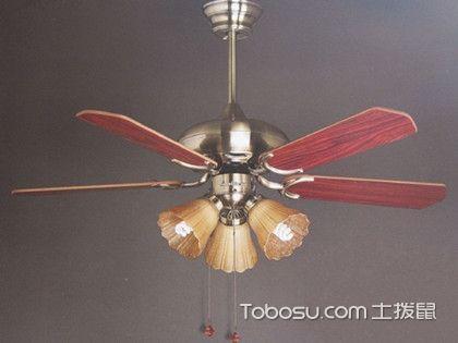 吊扇灯的安装方法,清爽又美观