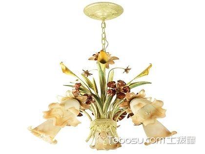 欧式田园风格灯饰,有效提升居室整体气质!