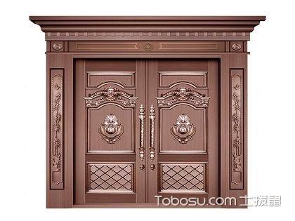 铜门的优势和保养技巧,安装在家里霸气又安全!