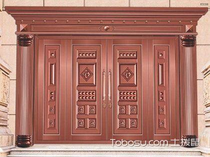 仿铜门是由什么材料做的,家庭装修这些不能不知道