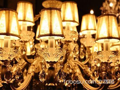 水晶吊灯配件有哪些?你家装修买齐材料了吗?