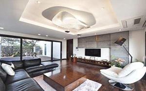 【创意客厅】创意客厅装修,创意客厅灯,隔断,效果图