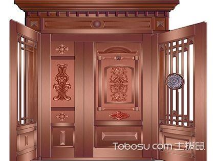 艺术铜门的特征和保养方法,实用与质地感同存的房门!