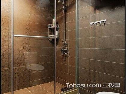 卫生间干湿分离用浴帘还是玻璃隔断好?如何选择?