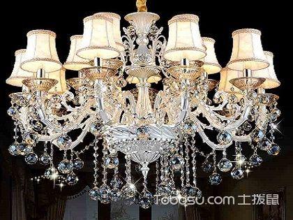 客厅水晶吊灯的搭配与安装,教你装出最精致的效果!