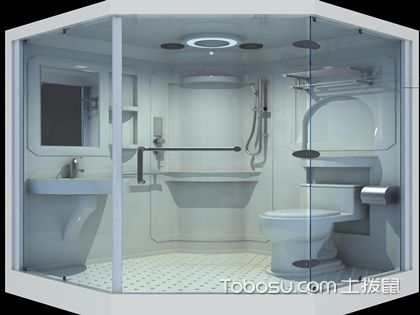 整体浴室尺寸,装修浴室要考虑