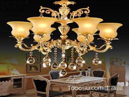 餐厅水晶吊灯这样选,给家人提供温馨有格调的用餐环境!