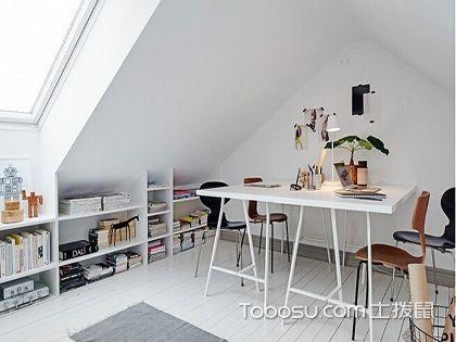 阁楼装修案例,功能多样的创意空间