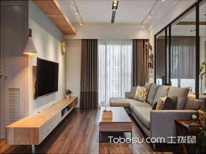 90平简约风格装修欣赏,自然写意的居家空间