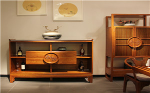 【中式餐边柜】中式餐边柜的一些常识,中式餐边柜设计,作用,效果图