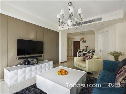 南通90平米房装修预算,6万打造简约舒适家!