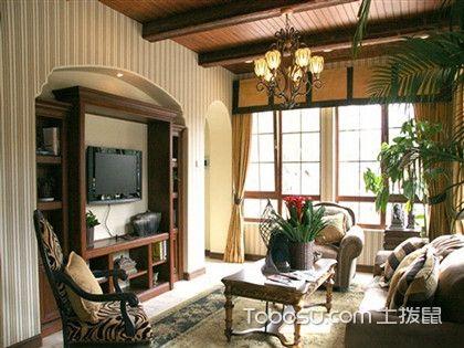西安120平米房装修预算,全包11万搞定美式家居