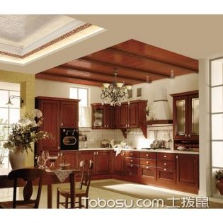 六款廚房吊頂效果圖,看完再裝才不會后悔!