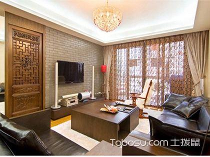 成都90平米房装修费用,13万打造典雅中式小家