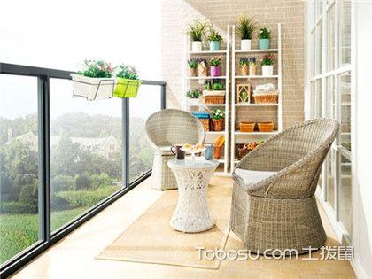 开放式阳台可以怎样设计?看完这几张效果图你就明白了!