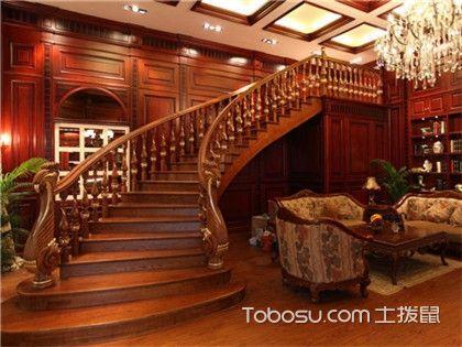 别墅楼梯如何设计?还你一个城堡梦!