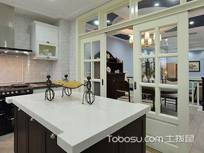厨房推拉门效果图,规划空间少不了!