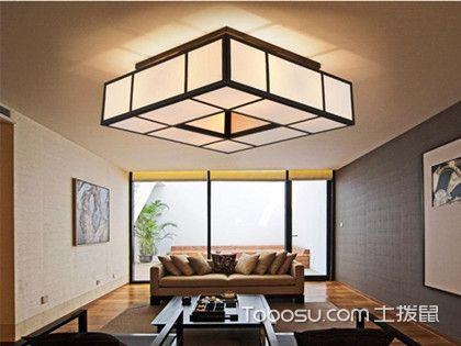 中式客厅吊灯效果图,让温润典雅从头开始