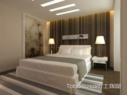 现代简约风格卧室,给你酒店一般的舒适享受!