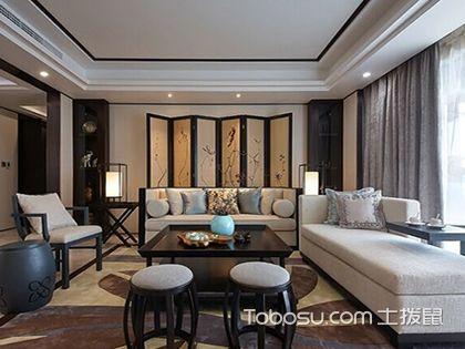 新中式客厅效果图,体现不一样的淡淡中国风图片