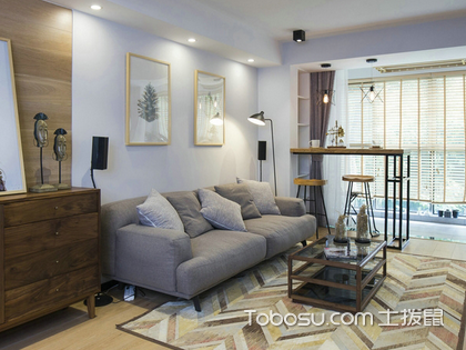 深圳120平米房装修费用仅10万,淡雅简约风你值得拥有