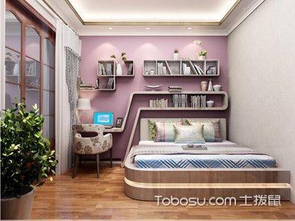 榻榻米卧室装修效果图,给你的家换一种新体验!