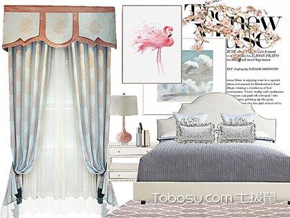 美式风格窗帘特点有哪些?这些技巧教你如何做搭配
