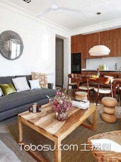 """上海65平米房装修费用,9万给你现代风的""""慢生活"""""""