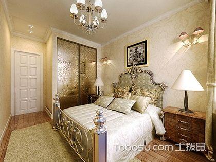 欧式卧室装修效果图,让卧室变得优雅浪漫
