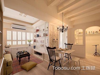 长春65平米房装修预算,8万打造清新舒适的田园小家