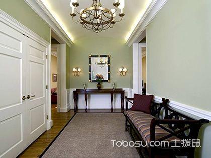 玄关家具选择注意事项,给自家做一个漂亮的门面