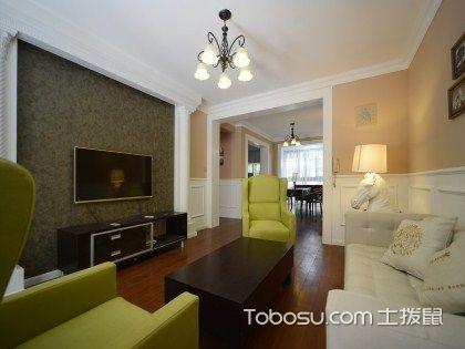 成都90平米房装修预算要多少?7万元打造怡人两室两厅